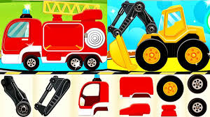 Cars For Kids - Learning Vehicles Names And Sounds | Construction ...