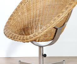 Rattan Swivel Chair Rattan Swivel Chair Cushion Pattern ...
