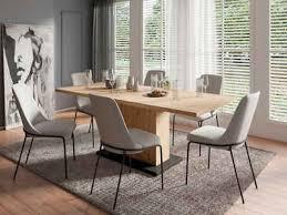 homexperts essgruppe aiko set 5 tlg esstisch mit 4 stühlen tisch mit auszugsfunktion breite 160 200 cm