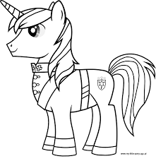 My Little Pony Shining Armor Coloring Pages