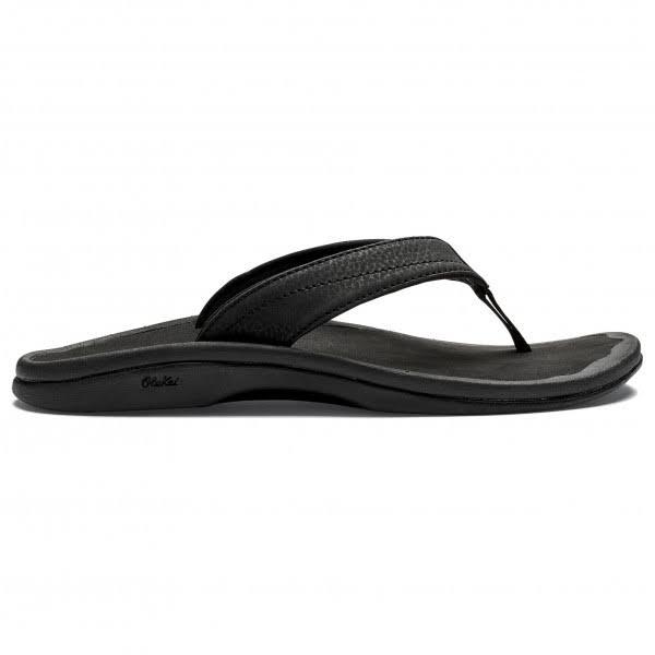 Olukai Women's Ohana Sandals - Black, 11 US