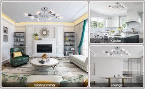 oyipro vintage deckenleuchte 8 flammig deckenle e27 lenfassung metall weiß innenbeleuchtung für wohnzimmer wohnzimmer schlafzimmer flur