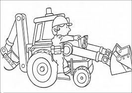 Bob The Builder Online Colouring Pages