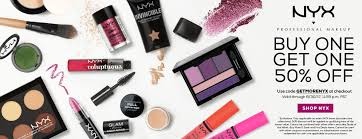 NYX Makeup Sale - Buy 1, Get 1 50% Off. Coupon Code ... Promocodewatch A Warning To Affiliate Advtisers Nyx Professional Makeup Pigment Primeratnykaacom 2017 Beauty Advent Calendar Price Drop At Ulta Hello Save Mad Lab Coupons Promo Discount Codes Wethriftcom Nyx Cosmetics Coupon 2018 Cicis Pizza Colourpop Super Shock Shadows Coupon Code Priyankas Golden Scent Discount Codes 70 Off Coupons Jan 20 Kate Spade The Friends Giving Sale Extra Targeted Code For 30 Off Entire Online Purchase Of Pr Unboxing Soft Rosy Shadow Eyeshadow Chubbies February 2019 Bein Sport