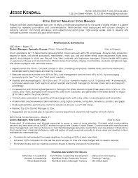National Sales Manager Resume
