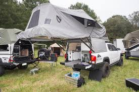 Pickup Topper Becomes Livable Pop-Top 'Habitat' | GearJunkie Truck Tent On A Tonneau Camping Pinterest Camping Napier 13044 Green Backroadz Tent Sportz Full Size Crew Cab Enterprises 57890 Guide Gear Compact 175422 Tents At Sportsmans Turn Your Into A And More With Topperezlift System Rightline F150 T529826 9719 Toyota Bed Trucks Accsories And Top 3 Truck Tents For Chevy Silverado Comparison Reviews Best Pickup Method Overland Bound Community The 2018 In Comfort Buyers To Ultimate Rides
