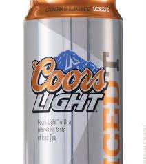Coors Light Iced T Beer Canada label