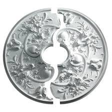Split Design Ceiling Medallion by Chandelier Medallion Home Depot Ms Del Sol Medallion 36 In X 36