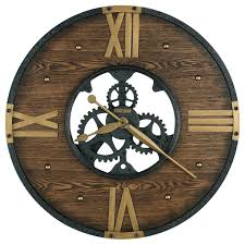 Howard Miller Wall Clocks Murano Round Wrought Iron Clock Metal