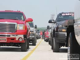 100 Green Trucks TS Performance Outlaw Drags Battle In Bowling Diesel Power