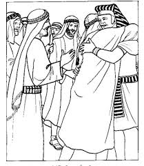 Bible Coloring Pages Brother And On Pinterest In Joseph Forgives His Brothers Page With