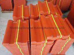 roof cement tiles press machine concrete roofing tiles machine