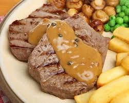 comment cuisiner un steak haché recette steak au poivre vert