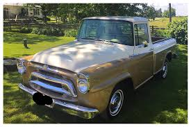 100 Restored Trucks My 1957 International Harvester Pickup Golden Jubilee Edition That