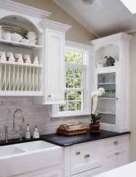 new york brick pattern tile kitchen style with white