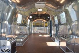 100 Airstream Trailer Restoration Custom Cabinetry Aluminum Polishing Replacement