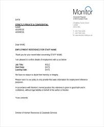 Awesome Collection Re mendation Letter Sample Hr Manager for