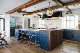 100 Exposed Joists Kitchen Features Exposed Joists A Large Center Island With