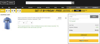 Fansedge Coupon Codes December 2018 : Active Event ... 25 Off Geekcore Promo Codes Top 2019 Coupons Promocodewatch Fansedge Coupon Code Coupon Code Coding Players Edge Sports I9 Competitors Revenue And Employees Www Fansedge Com Misguided Sale Etech Catalina Island Deals January 2018 Holiday World Coupons Promotional Oriental Trading Att Rewards Contact Number Lawson His Discount Voucher Lyft Pittsburgh Promo Big League Weekend Illinoisrealtor Org Good Food Wine Sir Pizza Rochester Mi