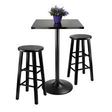 Round Kitchen Table Sets Walmart by Bar Stools Harlow 5 Piece Pub Set Instructions Indoor Bistro Set