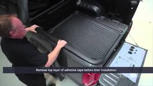 install over rail truck bedliner youtube