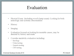 Woods Lamp Examination Images by Pediatric Epilepsy Slide Deck American Epilepsy Society Ppt Download