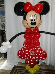 Best Red Minnie and Mickey Mouse balloon Column Kit for party