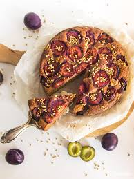 saftiger glutenfreier zwetschgen rührkuchen glutenfrei optional vegan