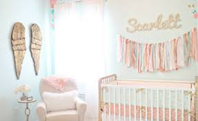 Coral And Mint Crib Bedding by Design Reveal Vintage Lace Nursery Project Nursery