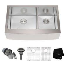 Home Depot Fireclay Farmhouse Sink by Farmhouse U0026 Apron Kitchen Sinks Kitchen Sinks The Home Depot