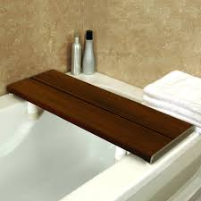 Teak Wood Bathtub Caddy by Bench Seat For Bathroom Transfer Bench For Bathtub Slide Bath