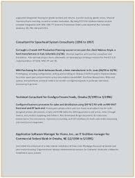 Erp Implementation Resume Sample Outstanding 28 Fresh Consulting Template Business Consultant