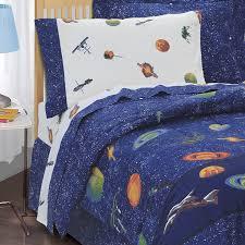 amazon com dream factory outer space satellites boys comforter