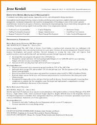 Cover Letter General Manager Resume Example Http Resumecareer