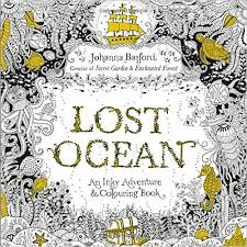 Lost Ocean An Inky Adventure Colouring Book Amazoncouk