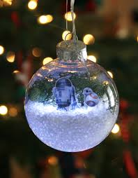 Jcpenney Christmas Tree Ornaments by Diy Star Wars The Force Awakens Glowing Snow Globe Holiday