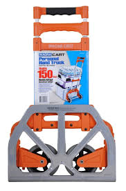 Magna Cart Personal Hand Truck, Orange - FireflyBuys.com New Unused Magna Cart Mcx Personal Hand Truck Grey Must Collect 150 Lb Capacity Alinum Folding Amazoncom Ideal Steel Shop Trucks Dollies At Lowescom Uhaul Dolly Magna Cart Flatform Lowes Canada Push Collapsible Trolley Top 10 Best Reviewed In 2018 Review Sorted 300 Four Wheel