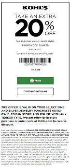 Kohl's Coupon: Extra 20% Off Fine & Silver Jewelry | Kohls ... Kohls 30 Off Coupons Code Plus Free Shipping March 2019 Kohls Coupons 10 Off On Kids More At Or Houzz Coupon Codes Fresh Although 27 Best Kohl S Coupons The Coupon Scam You Should Know About Printable In Store Home Facebook New Digital Online 25 Off Black Friday Deals Extra 15 Order With Code Bloggy Moms How To Use Cash 9 Steps Pictures Wikihow Pin