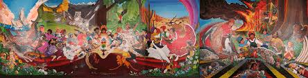 Denver International Airport Murals Pictures by What Is Going On In Denver For These Defon 1 Drills Why Is Obama