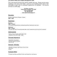 Resume Examples For Students With No Work Experience ... Resume Sample High School Student Examples No Work Experience Templates Pinterest Social Free Designs For Students Topgamersxyz 48 Astonishing Photograph Of Job Experienced 032 With College Templatederful Example View 30 Samples Of Rumes By Industry Level
