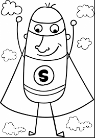Extraordinary Superman Flying Coloring Pages With Page And