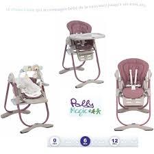 chaise haute évolutive chicco chaise evolutive chicco polly magic design à la maison