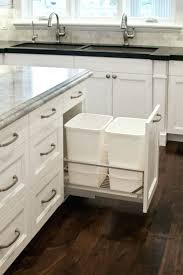 Under Cabinet Trash Can Pull Out by Narrow Under Sink Pull Out Trash Can Pull Out Trash Can Under