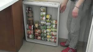 astuce pour ranger sa cuisine comment fabriquer un rangement pour ses boites de conserve