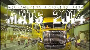 100 Mid America Trucking Show 2014 MATS In Louisville KY Wystawa