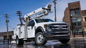 100 Ford Work Trucks Big Work Trucks Debut With New Features Engine Detroit Informer