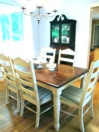 Dining Room Table Paint Chalk Tables Set Redo Chairs