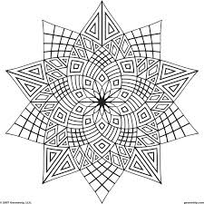 Mandala 0001 Free Printable Adults Coloring Pages Sheets All About For Kids