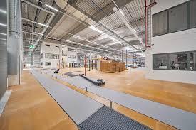häcker produktionsgebäude in venne bremer