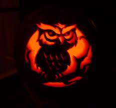 Owl Pumpkin Template by Boon Blessed Samhein Happy Halloween Y Feliz Dia De Los Muertos